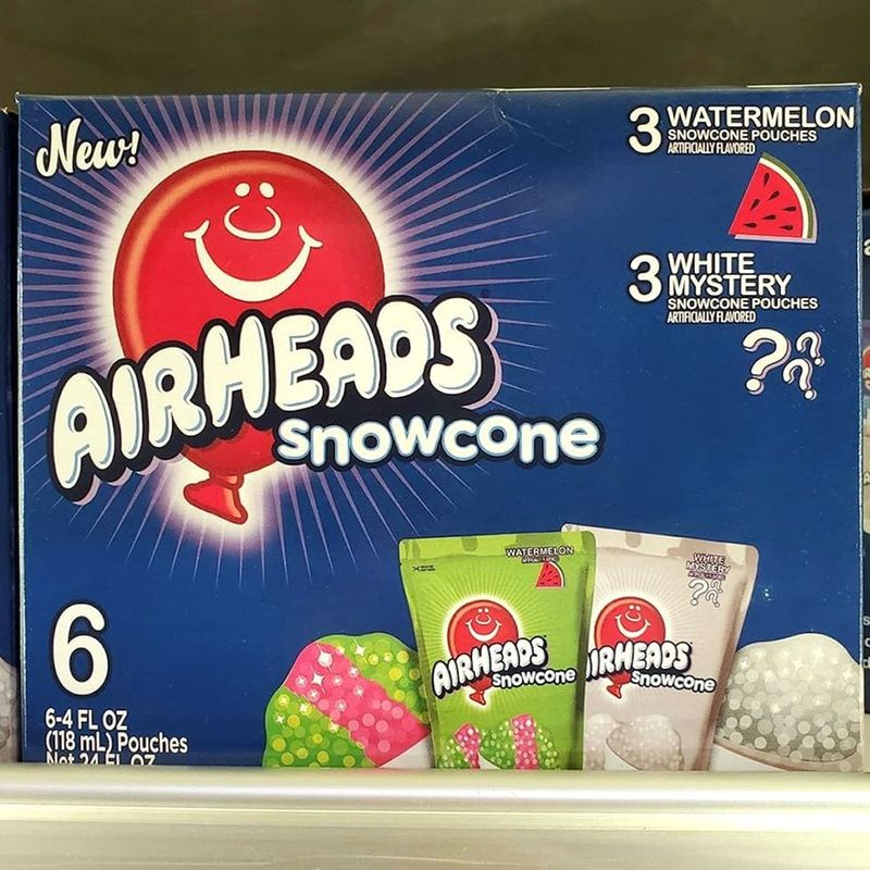 Frozen Candy-Flavored Snowcones