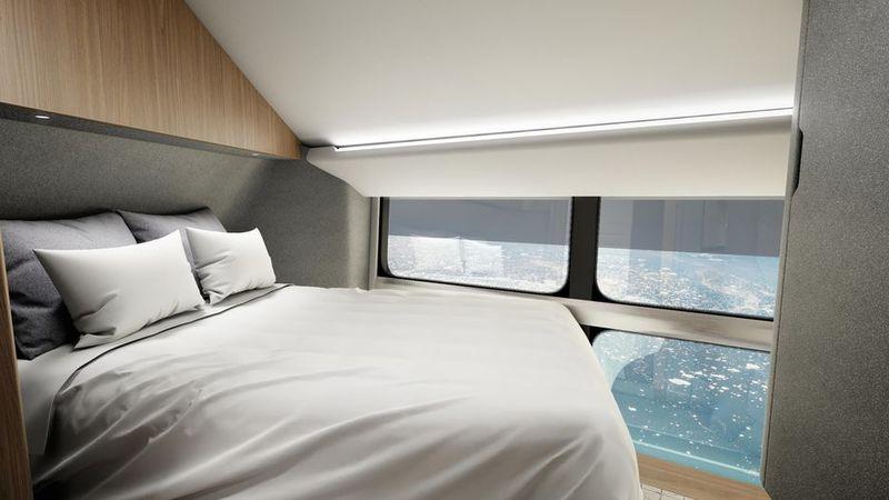 Luxury Floating Airships