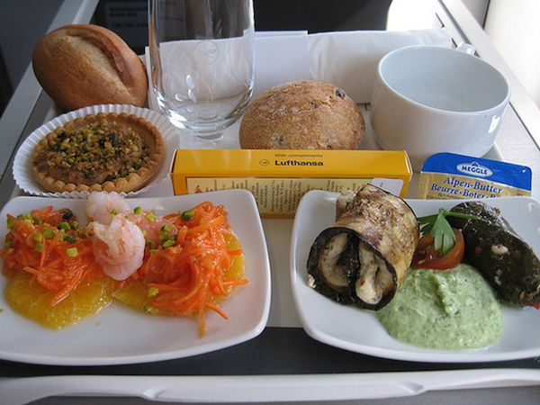Airline Food Photography