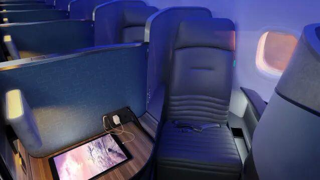 Matress-Like Airline Seats