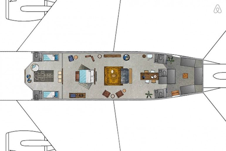 Luxury Airplane Apartments