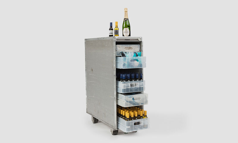 Authentic Airline Bar Carts
