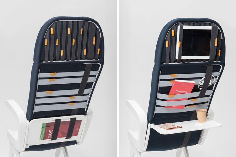 Organization-Focused Airplane Seats