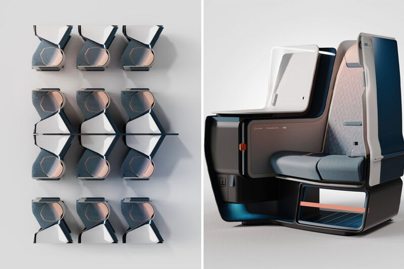 Reduced Weight Airplane Seats