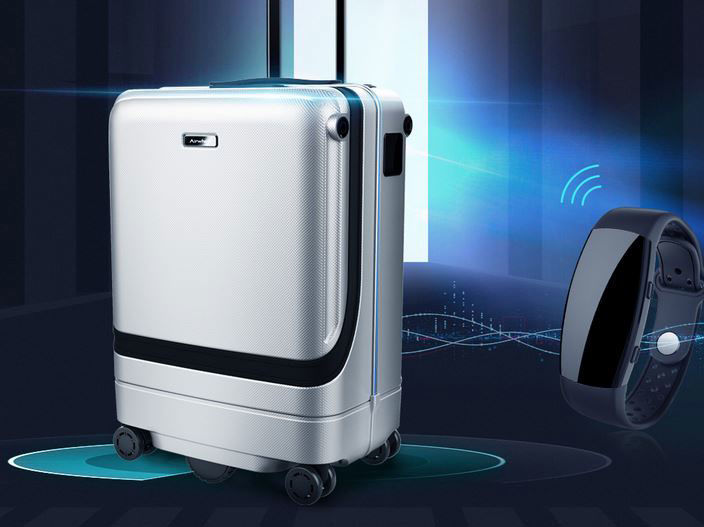 Smart Self-Following Suitcases