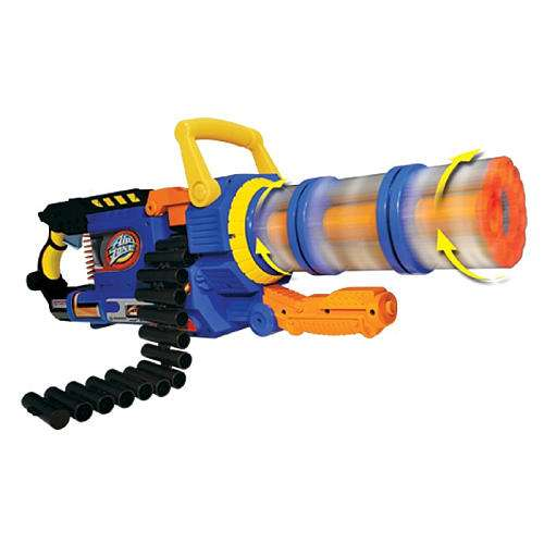kiddy chain guns airzone punisher gatling blaster. Black Bedroom Furniture Sets. Home Design Ideas