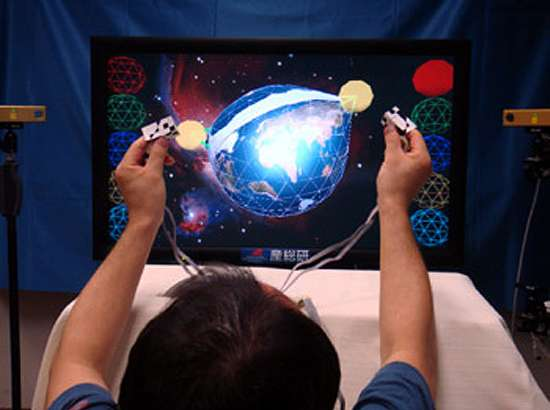 Touchable 3D Systems