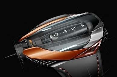 Futuristic Concept Timepieces