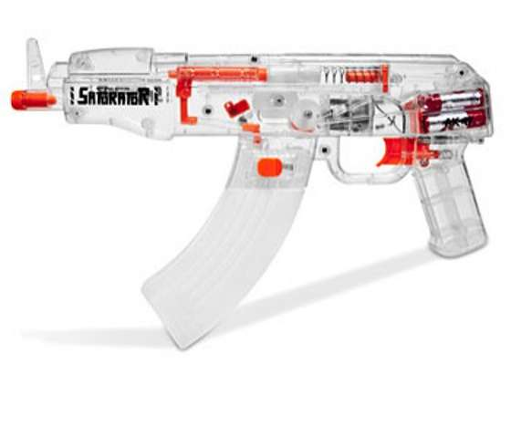 Assault Rifle Squirt Guns