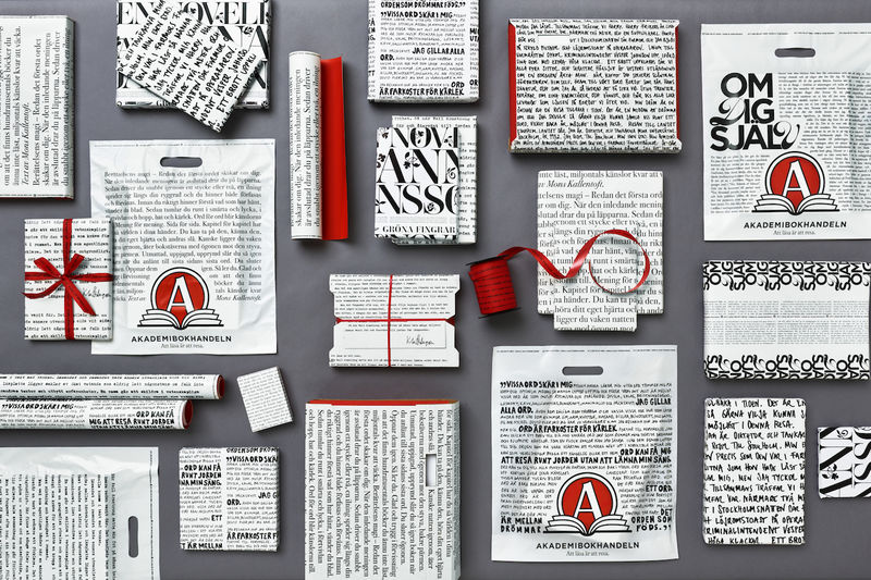 Illustrative Bookstore Gift Packaging