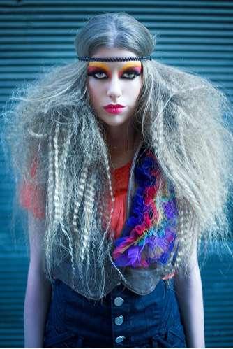 Eccentric Bohemian Hairdos