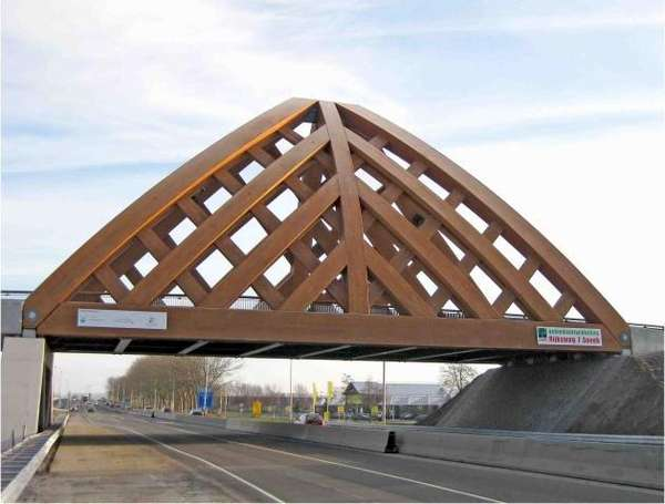 Woven Wood Bridges