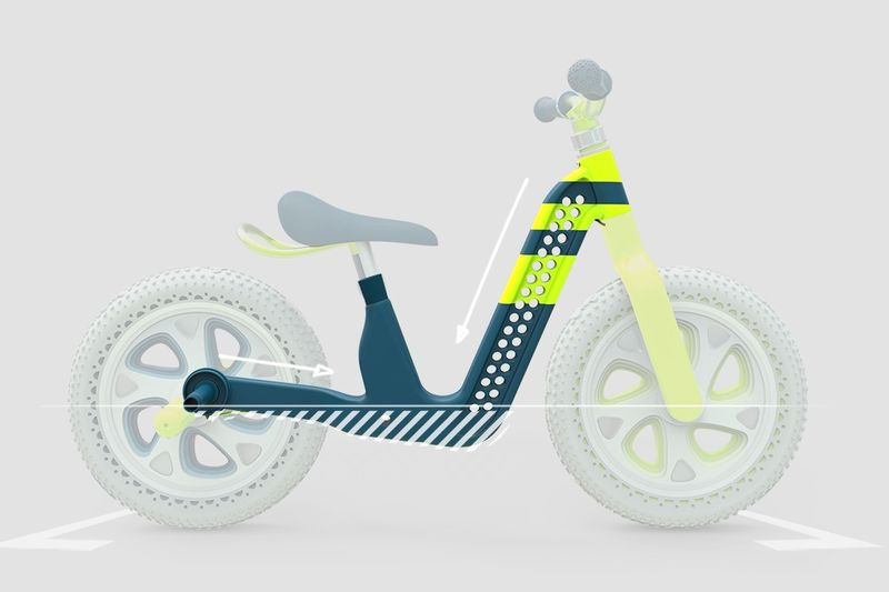Growth-Accommodating Child Bikes