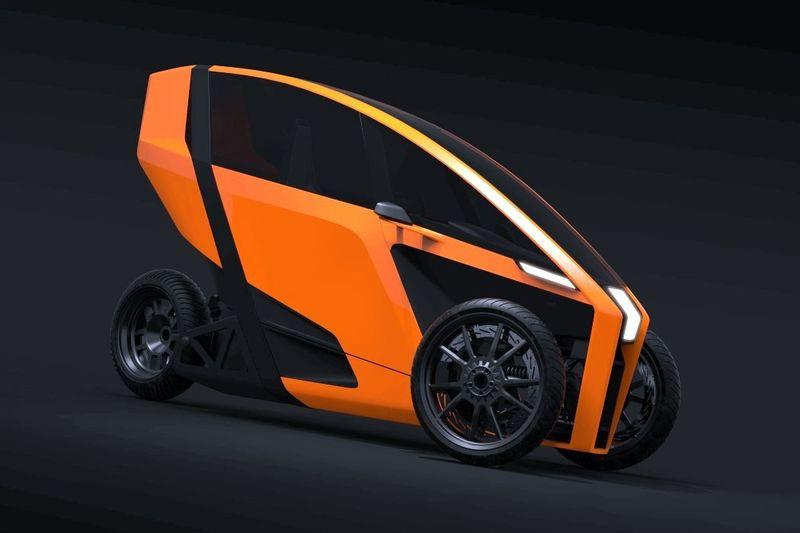 Leaning Maneuverability Electric Vehicles