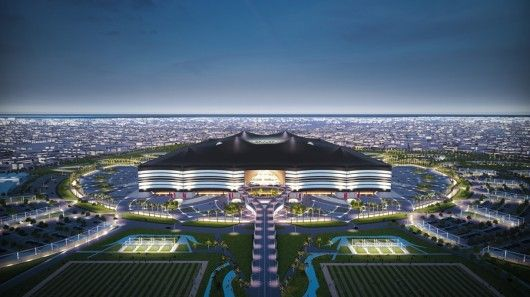 Tent-Inspired Soccer Stadiums