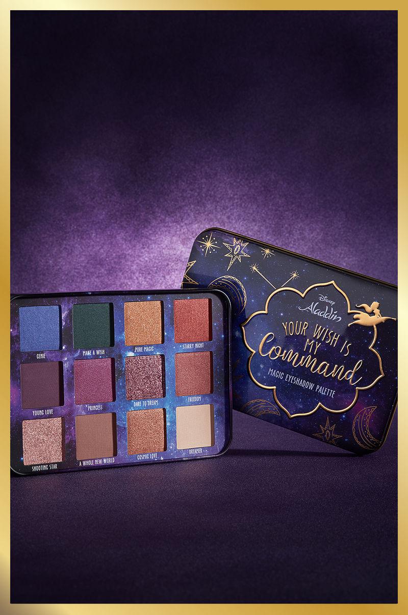 Disney Movie Makeup Palettes Aladdin Eyeshadow Palette