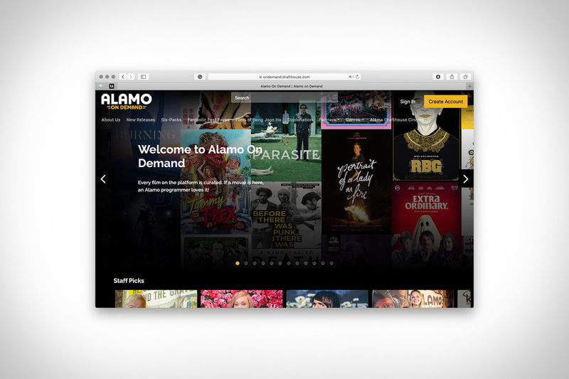 Curated Cinema Streaming Services