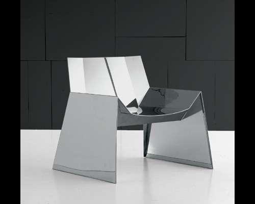Futuristic Steel Armchair