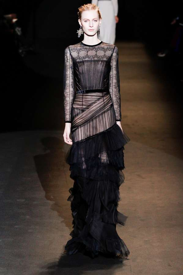 Timeless Transparent Fashion   Alberta Ferretti Fall 2013