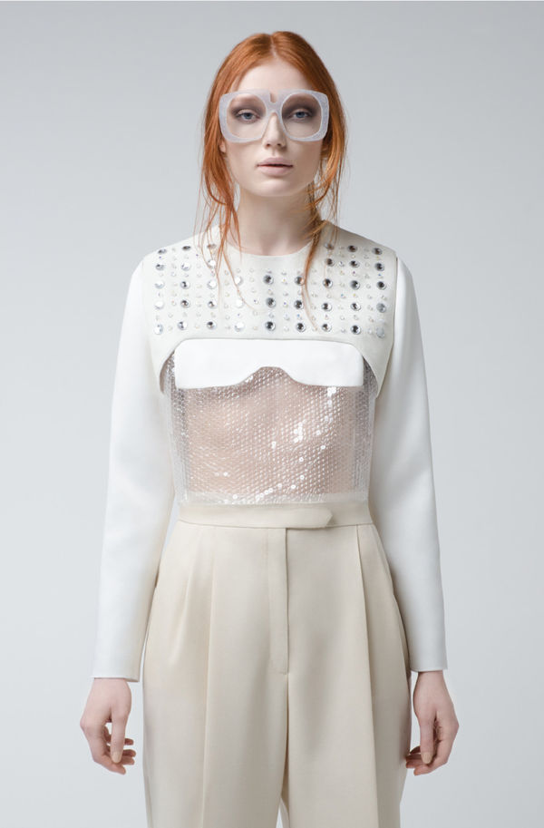 feminine minimalist fashion alberto zambelli fw14