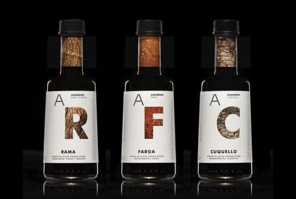 Earthy Bottle Branding
