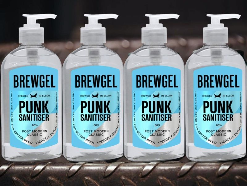 Distillery-Crafted Hand Sanitizers