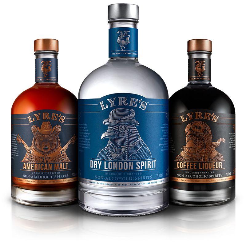 Realistic Alcohol-Free Spirits