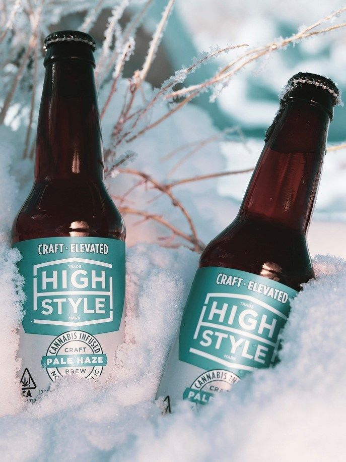Alcohol-Removed Cannabis Beers