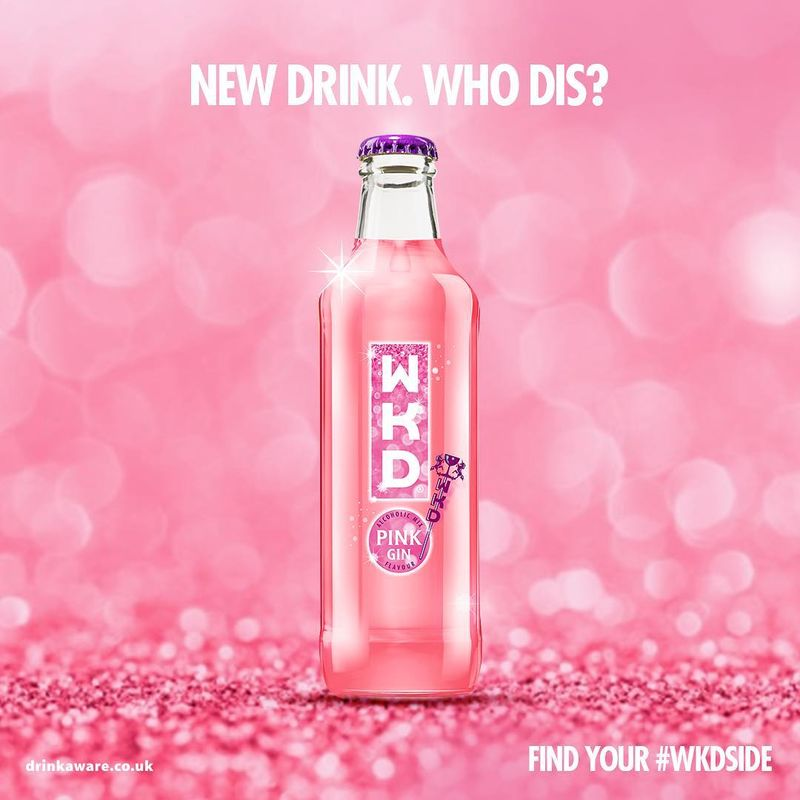 Pink Gin-Flavored Alcopops