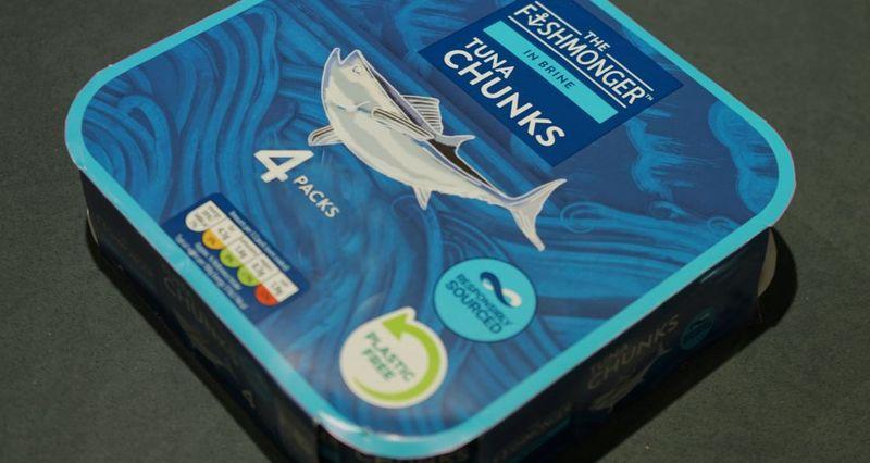 Anti-Plastic Tinned Tuna Packaging