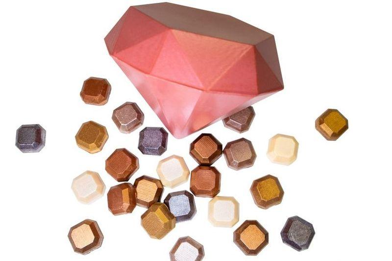 Jewel-Shaped Easter Chocolates