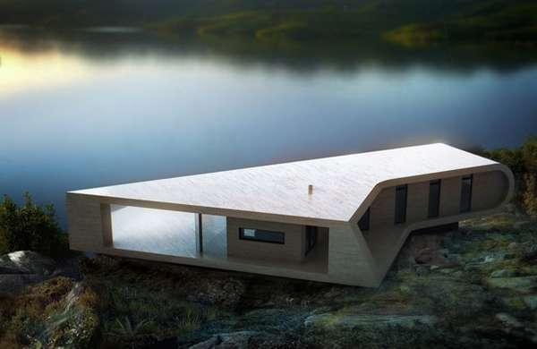 Wooden Wedge Dwellings