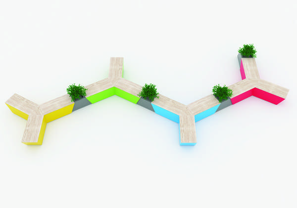 Branched Geometry Seating