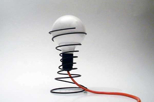 Simplistic Spiral Lamps