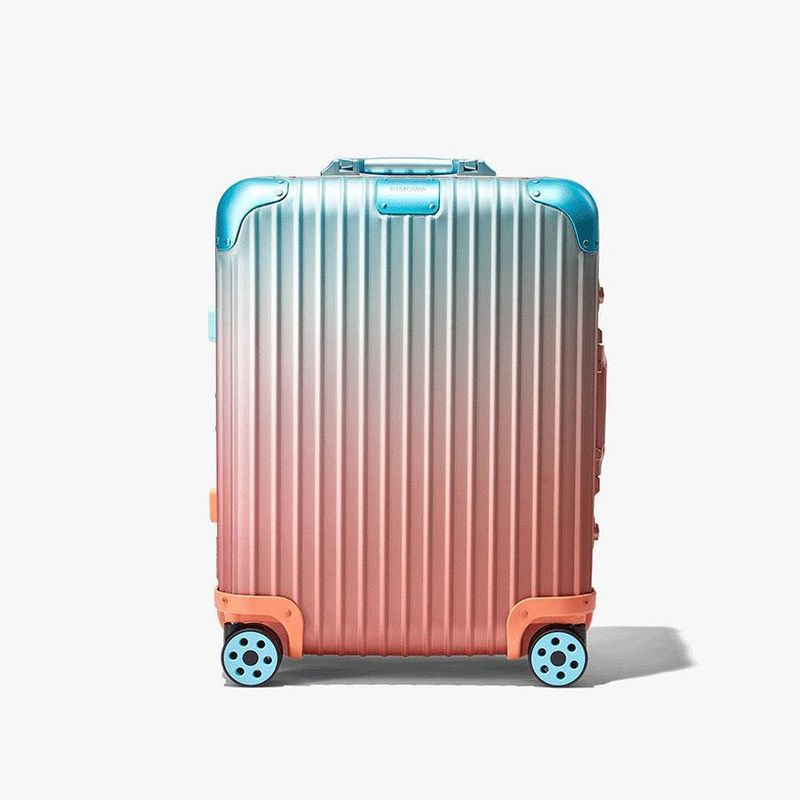 Cotton Candy-Colored Luggage