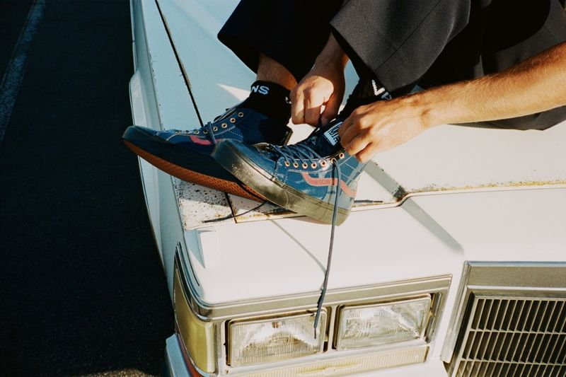 Cadillac-Informed Sneaker Silhouettes