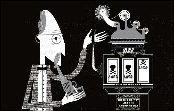 Capricious Gentlemen Illustrations