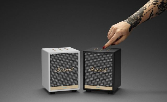 Amp-Themed Smart Speakers
