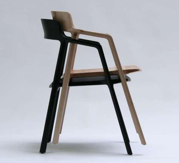 Sleek Stackable Seating