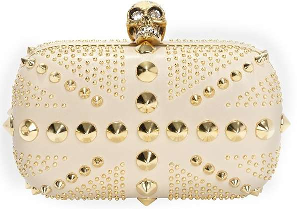 Spiked Skull Clutches