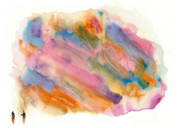 Pastel Technicolor Ilustrations
