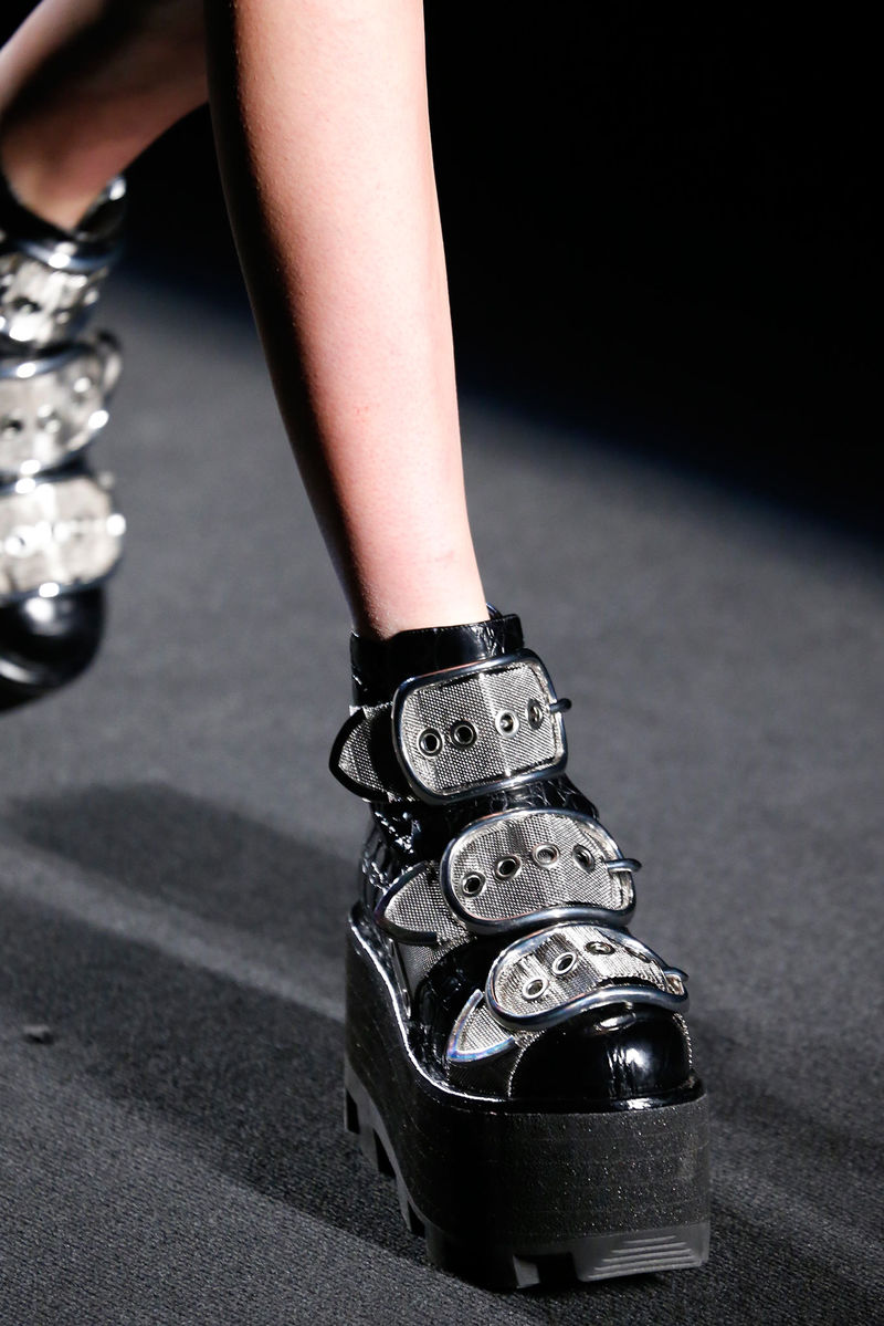 Luxurious Grunge Footwear