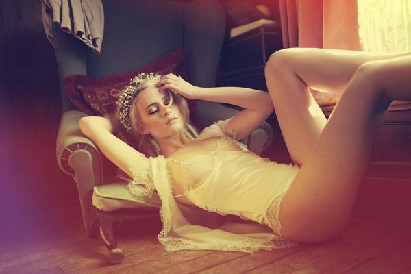 Sunbathing Pixie Editorials