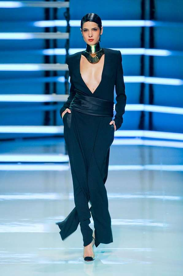 Neck Brace-Clad Catwalks
