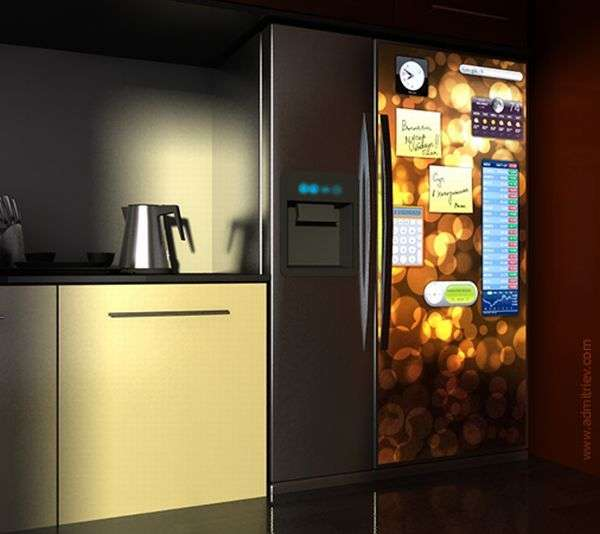 Touch Screen Fridges Alexey Dmitriev