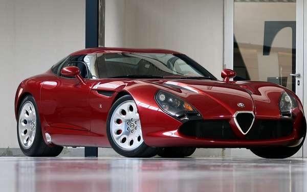 Italian Muscle Cars Alfa Romeo Tz3 Stradale