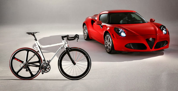 Luxury Auto-Inspired Bicycles