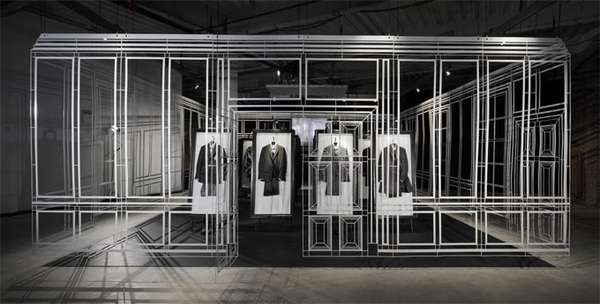 Pop-Up Menswear Installations