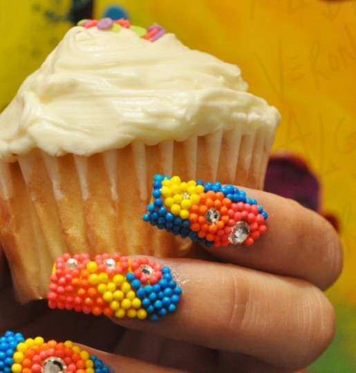 Candy-Coated Manicures