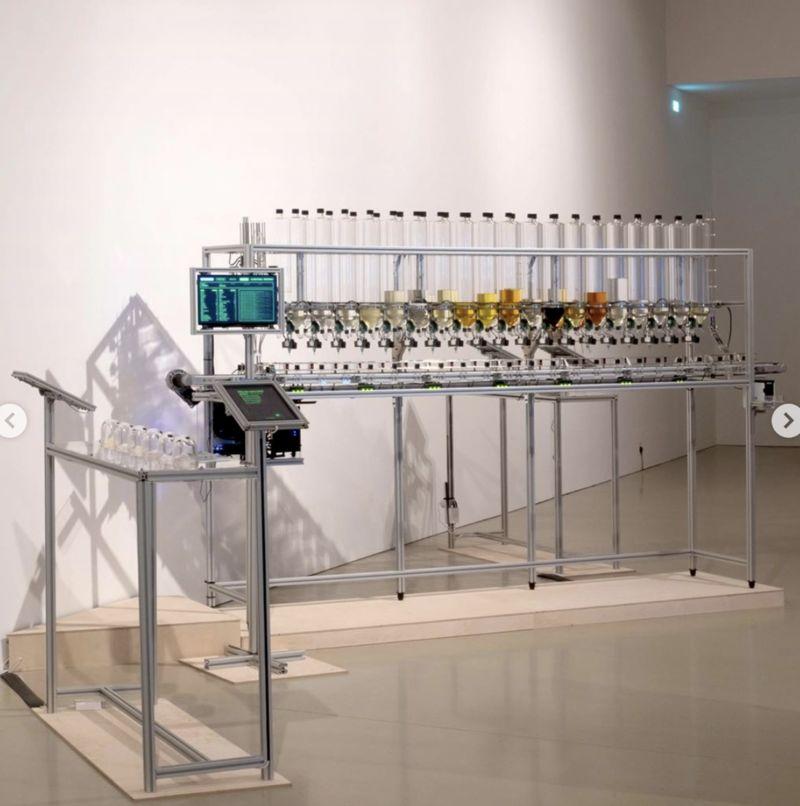 Algorithmic Perfumes